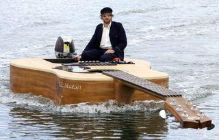 Josh-pykes-boat-guitar